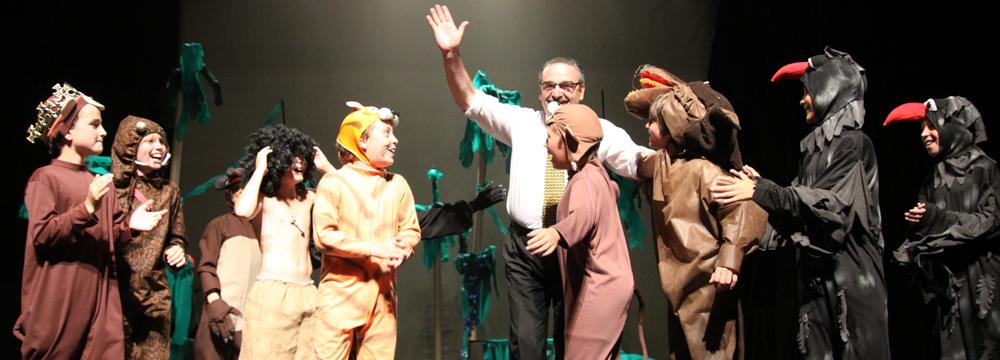 El Libro de la Selva teatro 4° año 2010