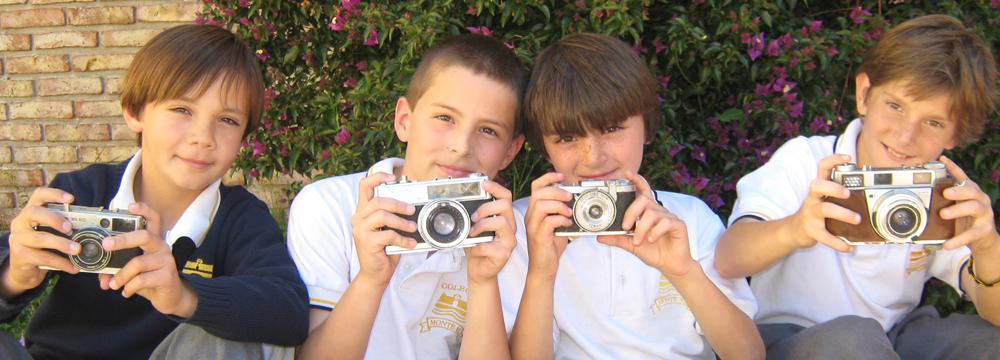 Fotografos de 4° de primaria 2010